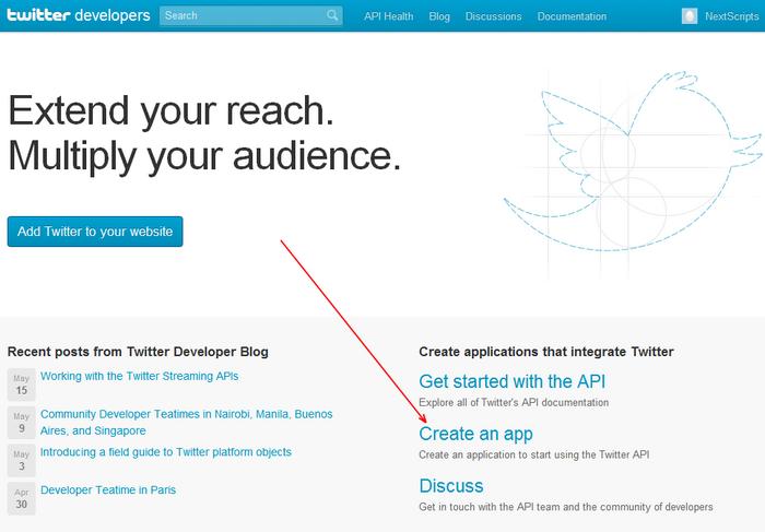 Twitter new App