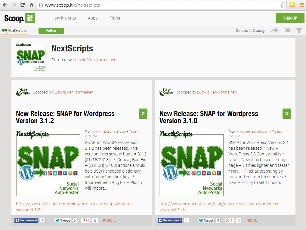 New Release: SNAP for WordPress Version 3.2