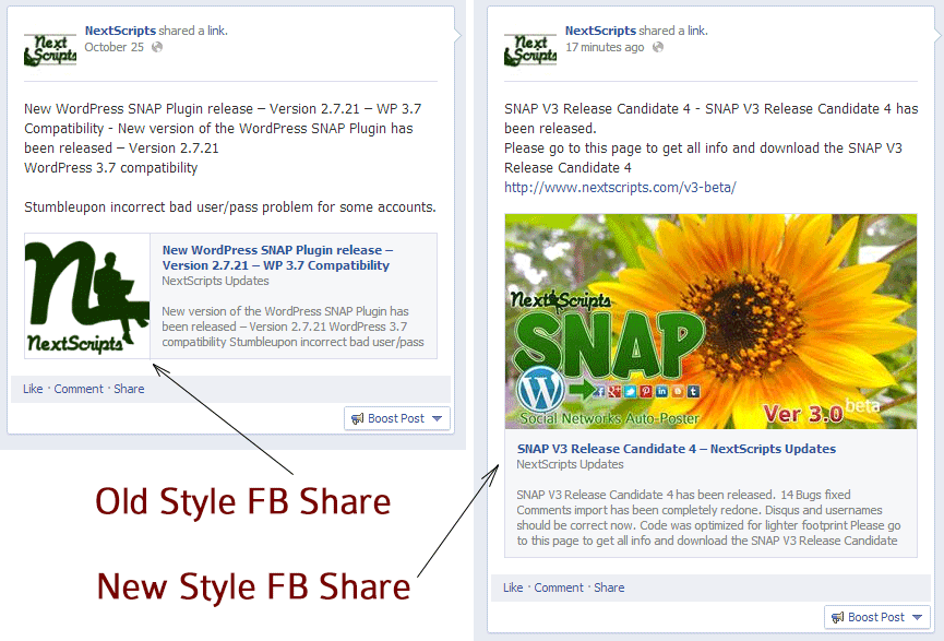 how to make facebook post bigger
