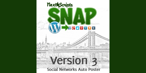 New Release: SNAP for WordPress Version 3.4.12